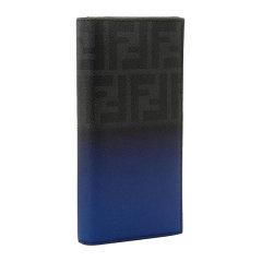 FENDI/芬迪 男士渐变拼色经典双F印花长款折叠钱包手包手拿包男包 7M0186-N8N 多色可选图片
