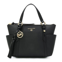 Michael Kors 迈克·科尔斯 女士 包袋 20秋冬 黑色单肩手提包图片