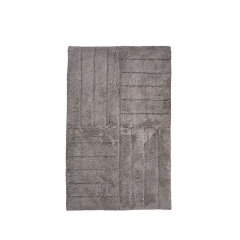 Zone丹麦进口北欧纯棉地垫   客厅坐垫浴室垫防滑垫脚垫80x50 cm图片