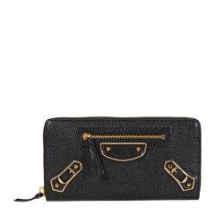 Balenciaga/巴黎世家 classic系列女士羊皮全拉链式长款钱夹钱包手拿包女包 390187-AQ40G 多色可选图片