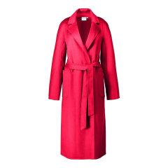 GeleiStory/GeleiStory经典大衣双面羊毛大衣毛呢外套女水波纹羊毛大衣女士大衣图片