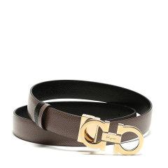 【现货秒发】SalvatoreFerragamo/菲拉格慕 女士牛皮双面板扣式皮带腰带 23A565图片