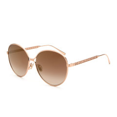 Jimmy Choo/周仰杰 新款女士太阳镜 古典时尚简约太阳眼镜 渐变色金属太阳镜 NEVA/F/S图片