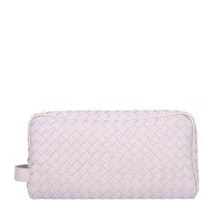 Bottega Veneta/葆蝶家 男士纯色羊皮经典编织款拉链开合钱夹钱包卡包手拿包男包 244706-V4651 多色可选图片