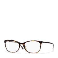 【国内现货秒发】CHANEL/香奈儿 明星同款 亚洲版眼镜框女 平光眼镜框 素颜近视眼镜架 超轻黑框眼镜架 型号CH3281A图片