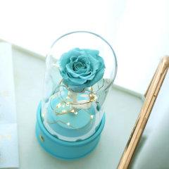 【新年礼物】FlowerFour/FlowerFour Tiffany蓝永生花蓝牙音箱 生日纪念日节日礼物新疆西藏等偏远地区物流停发图片