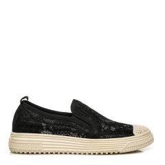 【春夏新款】EVER UGG 女士乐福鞋 EVERAU&TARRAMARRA 夏季新款圆头平底蕾丝一脚蹬懒人透气渔夫鞋TA7009图片
