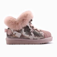 Ozwear/Ozwear 儿童款伍迪迷彩贝壳头运动雪地靴OZW126图片