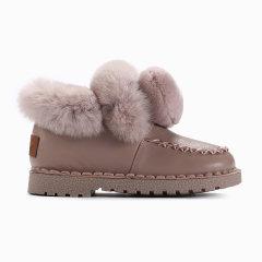 Ozwear/Ozwear 儿童款艾莉毛球雪地靴OZW127图片