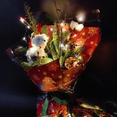 【新年礼物】  FlowerFour/FlowerFour 圣诞节礼物 圣诞花束(仅限北京地区)新疆西藏等偏远地区物流停发图片