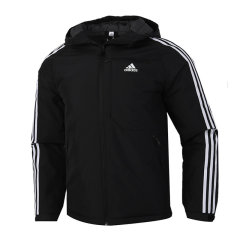 Adidas/阿迪达斯 20年冬季 男款 运动服 户外 加绒 保暖 防风 休闲 加厚 羽绒服 GF0098图片