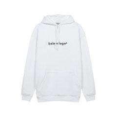 【国内现货】Balenciaga/巴黎世家 女卫衣女士棉质宽松版连帽衫卫衣运动衫 578135 TIV55图片