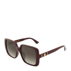 GUCCI/古驰 简约 复古 百搭 板材 方形 大框 女士 太阳镜 4色可选 墨镜 眼镜 GG0632SA 56mm GUCCI 古驰图片