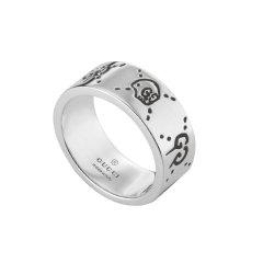 【正品盒装】GUCCI/古驰GucciGhost骷颅头 饰情侣戒指对戒455318 J8400 0701图片