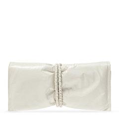 Bottega Veneta/葆蝶家 女士纯色翻盖小牛皮拉链开合褶皱款迷你包手拿包晚宴包手包腕包女包 629590-VA9A2 多色可选图片
