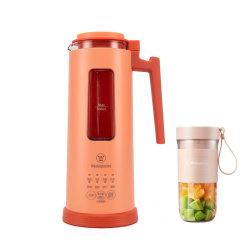 美国西屋迷你破壁机 送便携榨汁杯 小型豆浆机 全自动1-2人家用单人破壁免过滤小破壁机图片