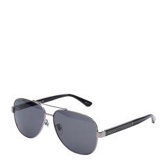 【爆款主推 国内现货秒发】GUCCI/古驰 太阳镜男时尚飞行员墨镜蛤蟆镜防紫外线古奇眼镜型号GG0528S图片
