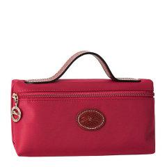 Longchamp/珑骧 女士纯色尼龙拉链开合单手提手拿包化妆包女包 3700089545图片