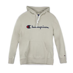 Champion/冠军 2020秋冬新款 男女同款 草写大Logo 纯棉 连帽卫衣 潮流【建议拍小一码】图片