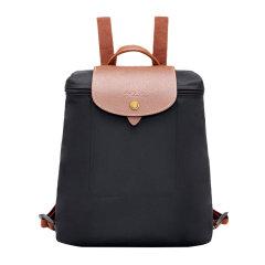 【包税】Longchamp/珑骧 Le Pliage女士纯色尼龙摁扣翻盖经典拼色可调系带手提包双肩背包女包 1699089 多色可选图片
