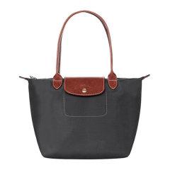 【包税】Longchamp/珑骧 Le Pliage系列女士纯色尼龙小号长柄折叠饺子包手提包单肩包女包 2605089 多色可选图片