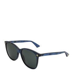 GUCCI/古驰 时尚 复古 优雅 方圆形 板材 大框 男女款 太阳镜 6色可选 渐变色镜片 墨镜 眼镜 GG0024S 58mm GUCCI 古驰图片