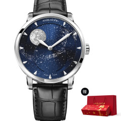 【赠精美新年礼盒】AGELOCER/艾戈勒 手表 博世月相系列 男表 机械表全自动 手表男 全景背透80小时长动能图片