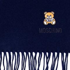 【清仓】MOSCHINO/莫斯奇诺 招牌熊仔披肩/ 围巾【现货】图片