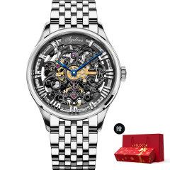 【赠精美新年礼盒】AGELOCER/艾戈勒 手表 博世系列 男表 机械表全自动 手表男 镂空雕花图片