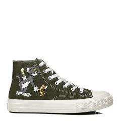 【2021春夏新款】EVER UGG 女士休闲运动鞋  TARRAMARRA 新款帆布鞋女猫和老鼠联名卡通动漫高帮板鞋潮流休闲鞋TA5015图片