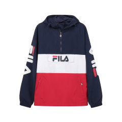【国内现货】FILA/斐乐 男士聚酰胺宽松版连帽长袖卫衣运动衫 688199图片