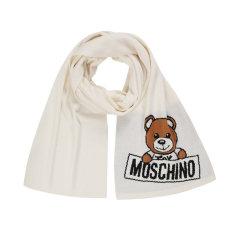 【清仓】MOSCHINO/莫斯奇诺  情侣款小泰迪熊针织羊毛围巾图片