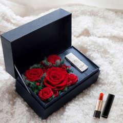 FLOWERSONG/我如此爱你-兰蔻196/888/505口红礼盒图片