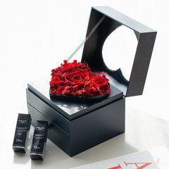 FLOWERSONG/守护初心心形迪奥Dior#999Dior#520双口红礼盒(炽热红/少女粉)图片