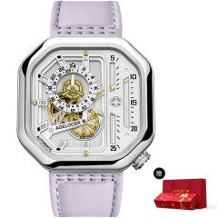 【赠精美新年礼盒】AGELOCER/艾戈勒手表大爆炸系列女士手表女款镂空机械表新款时尚潮流自动机械手表图片