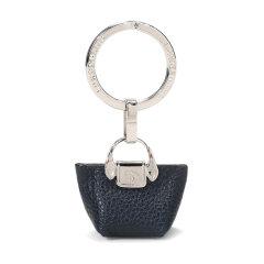 【国内现货】Longchamp/珑骧 LeFoulonnébicolore女士系列金属配皮钥匙圈 6983 021图片