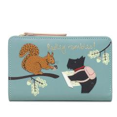 Radley/蕾德莉,材质:牛皮革 动物图案中号两折钱包新款短款卡包英国钱包S2778001图片