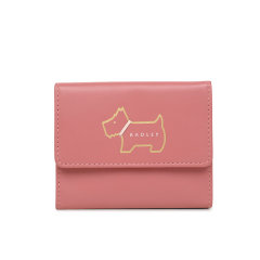 Radley/蕾德莉皮革纯色简约三折短款钱包新款女士英国钱包卡包S2691001图片