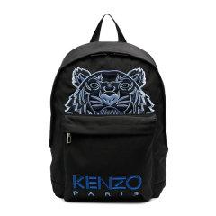 KENZO/高田贤三 男士纯色聚酯纤维经典字母徽标虎头刺绣款拉链开合双肩包手提包旅行包背包男包 FA65SF300F20 多色可选图片