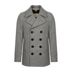 【大陆现货秒发】羊毛绒大衣 BURBERRY/博柏利 服装 巴宝莉 男士外套 博柏利大衣 双排扣 外套 风衣 男装 男士大衣图片