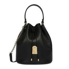 FURLA/芙拉 女士纯色皮革抽绳开合mini单肩包斜挎包手提包水桶包女包 BATBABR-HSF000 多色可选图片