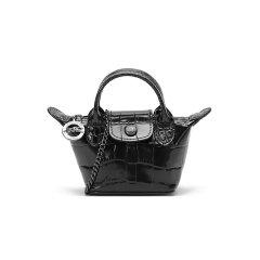 【国内现货】Longchamp/珑骧 2021春夏 女士LE PLIAGE CUIR系列迷你款牛皮手提单肩斜挎包链条包零钱包 10099 HVC图片