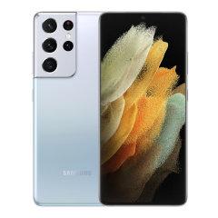 【预售新品】三星 Galaxy S21 Ultra 5G(SM-G9980)双模5G手机  赠三星原装充电头+运动蓝牙耳机+智能AI音响图片