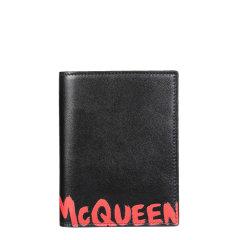 Alexander McQueen/亚历山大麦昆 21年春夏 时尚百搭 男性 钱包 6016921NT6B图片
