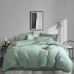 环保活性印染,优质面料,干爽透气,不易掉色,耐洗耐用 Elegance/雅莉格丝 水洗棉 纯色四件套 EHT183图片