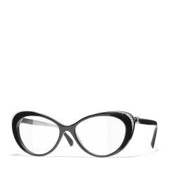 CHANEL/香奈儿   2021新款 眼镜框超轻板材全框猫眼近视光学眼镜镜架CH3405图片