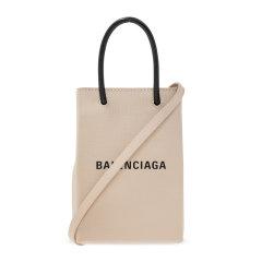 【包税】Balenciaga/巴黎世家 女士纯色纹理小牛皮字母徽标印花单肩包斜挎包手提包女包 593826-0AI2N 多色可选图片