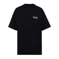 Balenciaga/巴黎世家 21年春夏 百搭 男性 男士短袖T恤 641675TIV52图片