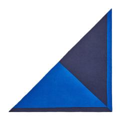 HERMES/爱马仕 Encadre系列女士拼色羊绒混纺丝绸巨型三角形丝巾头巾围巾 H183540S 多色可选图片
