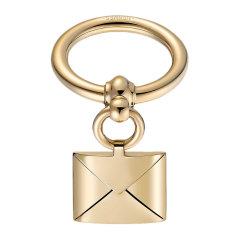 【包税】HERMES/爱马仕 女士金色镀钯黄铜Loop Charms Enveloppe围巾环丝巾扣 H60200 多色可选图片